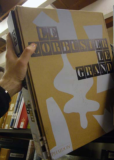 Giant Le Corbusier book