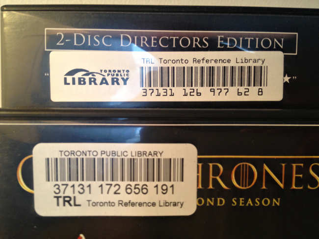 Wide TRL barcode with TPL logo; narrow TRL barcode in Arial