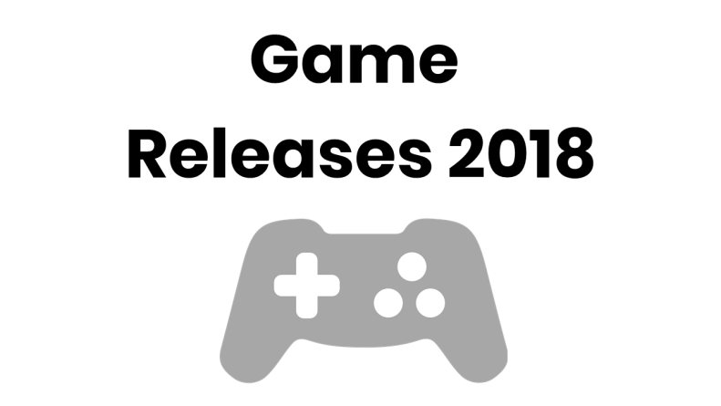 best game release date 2018