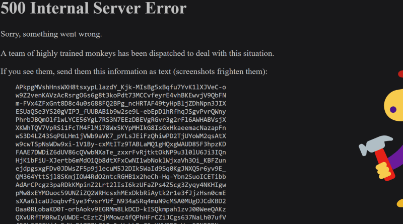 YouTube Down, 500 Internal Server Error – Here's What You Can Do