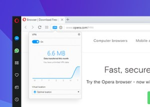 New Opera Browser with Crypto Wallet