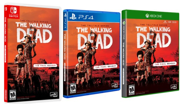 Walking Dead Final Season: Skybound releases Retail Copy on 26th of March