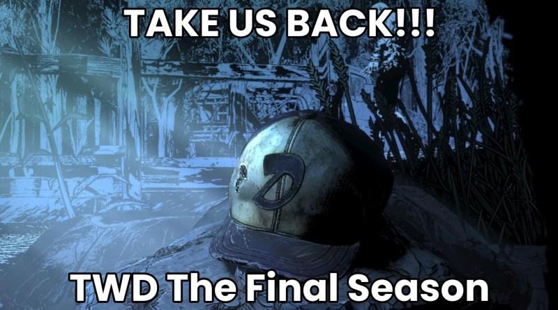 """Walking Dead: Final Season: Release and Info of Episode 4 """"Take Us Back"""""""