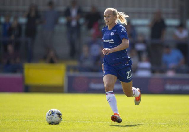 Chelsea defender reaches half-century of senior caps for Sweden