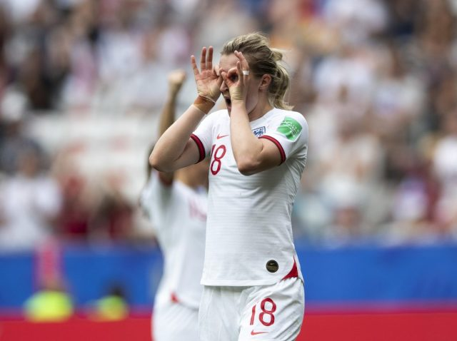 Manchester City striker White's brace ensures that England top their group