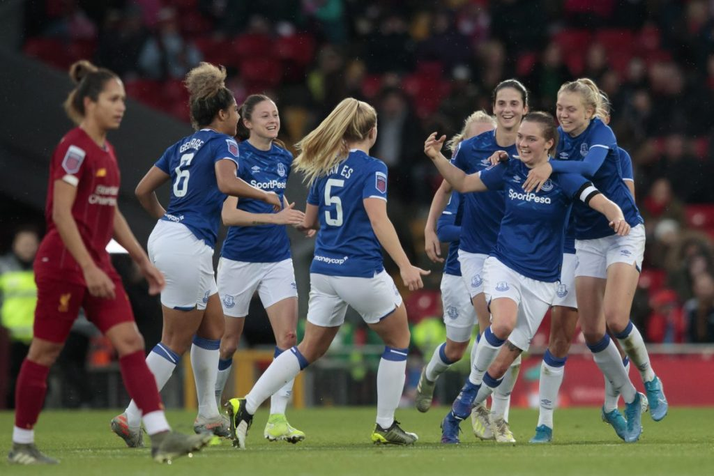 Preview Everton V Liverpool Fawsl Full Time