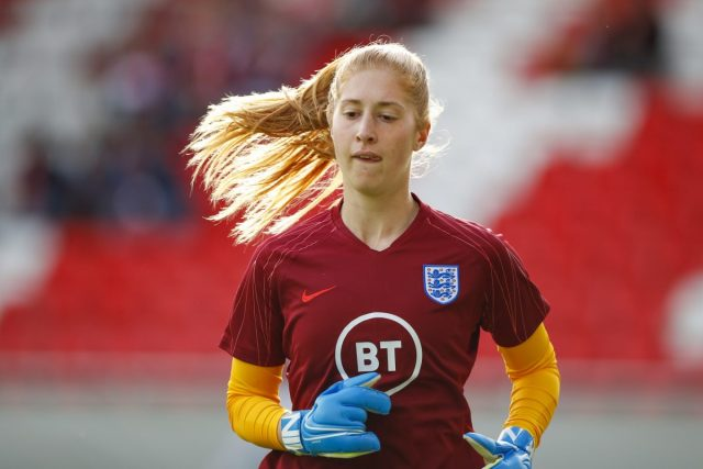 'The number one shirt up for grabs is really exciting'- Everton's MacIver on England competition