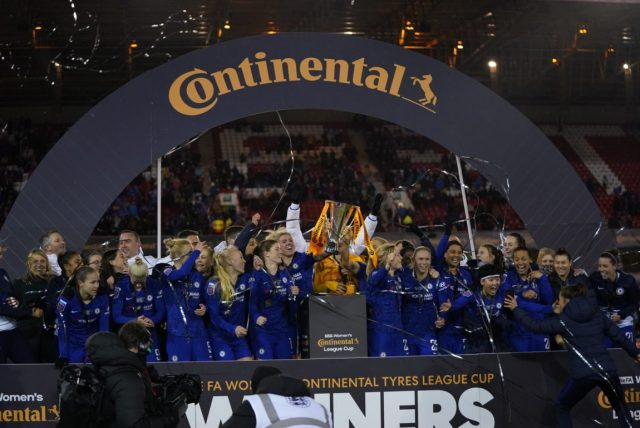 Conti Cup finalists Chelsea and Arsenal to meet in group stage of 2020/2021 competition