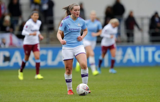 Manchester City midfielder enjoys winning debut for Glasgow City