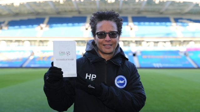 Brighton & Hove Albion boss Powell becomes first female winner of LMA award