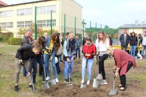 Gesamtschule Petershagen_Vorfreude auf den Neubau_Spatenstich September 2017_3