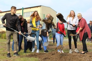 Gesamtschule Petershagen_Vorfreude auf den Neubau_Spatenstich September 2017_4