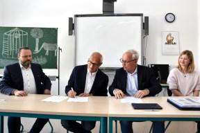 Berufliche Schule der FAWZ gGmbH_Vertrag mit FHM unterzeichnet_Mai 2019_10