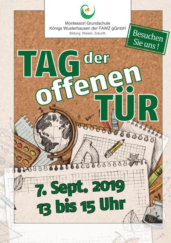 Montessori Grundschule Königs Wusterhausen_Tag der offenen Tür am 7. September 2019