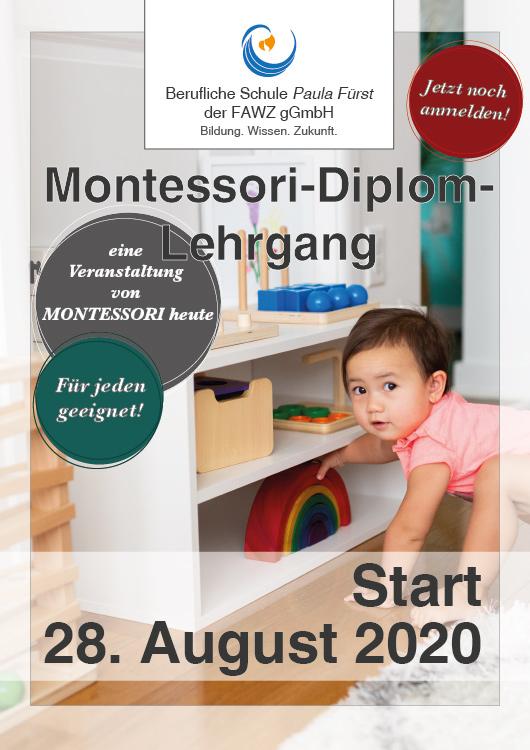 Berufliche Schule Paula Fürst der FAWZ gGmbH_Montessori-Diplom-Lehrgang am 28. August 2020