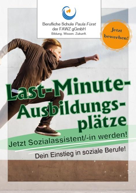 Berufliche Schule Paula Fürst der FAWZ gGmbH_Last-Minute-Ausbildungsplätze_Jetzt Sozialassistent werden