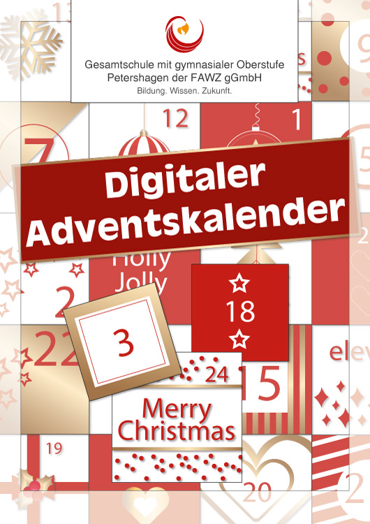 Gesamtschule Petershagen_Digitaler Adventskalender_2020
