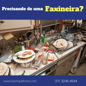 Site de Faxineira e Diarista em Belo Horizonte