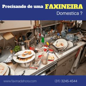 Empresa de Faxineira doméstica residencial em BH - Belo Horizonte