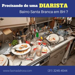 Diaristas e Faxineiras Santa Branca Belo Horizonte - Faxina da Hora