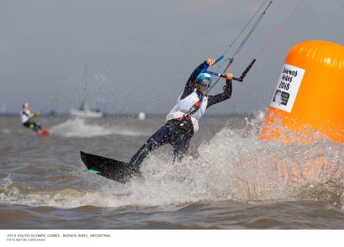 Ona Romani - Kite surf Buenos Aires 2018