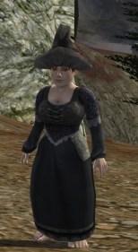 Zerrissenes Kleid (grau)