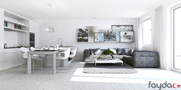 minimalist-studyo-daire-dekorasyonlari