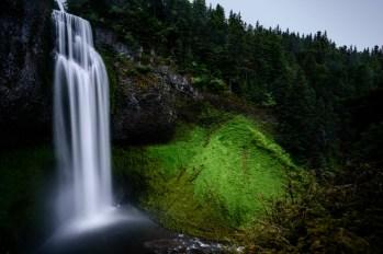 Waterfall and Greenery