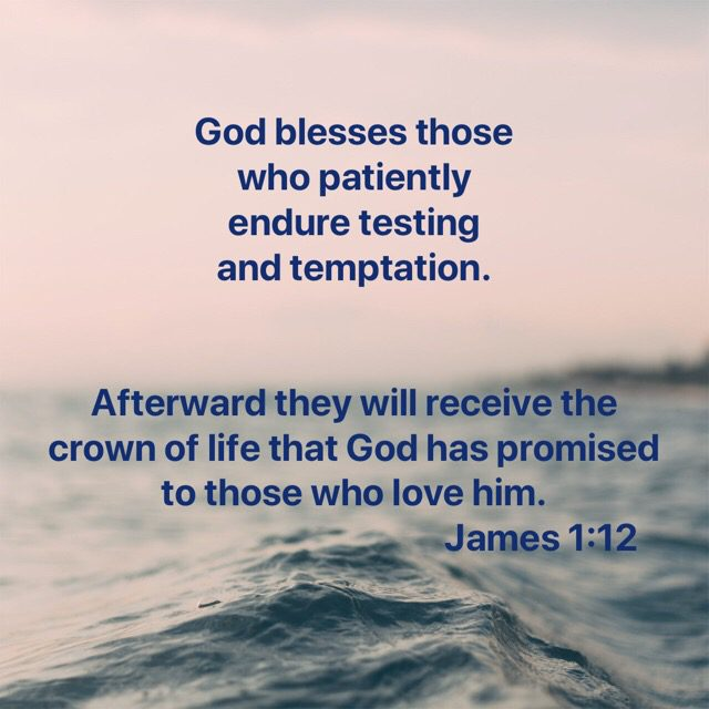 Patiently endure? Yeah, right.