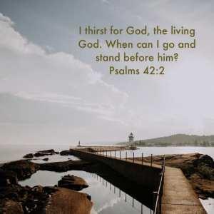 Thirst for God?