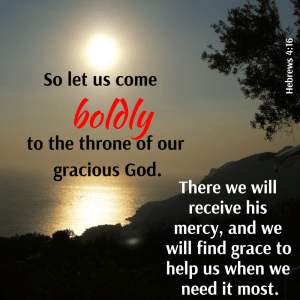 Come BOLDLY!