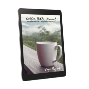 Coffee, Bible, Journal: Musings from the Comfy Chair with a View