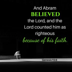 Faith = Righteousness