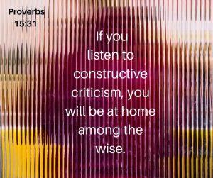 Do you hate criticism?