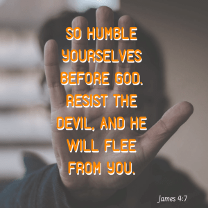 Don't be God's enemy.