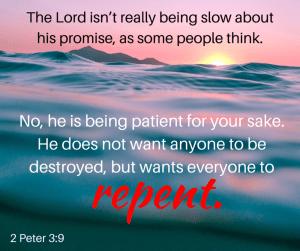 God's not slow