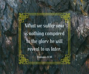 Suffering? It's nothing, really.
