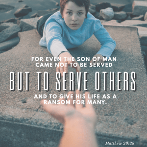 Serving > being served. Jesus said so.