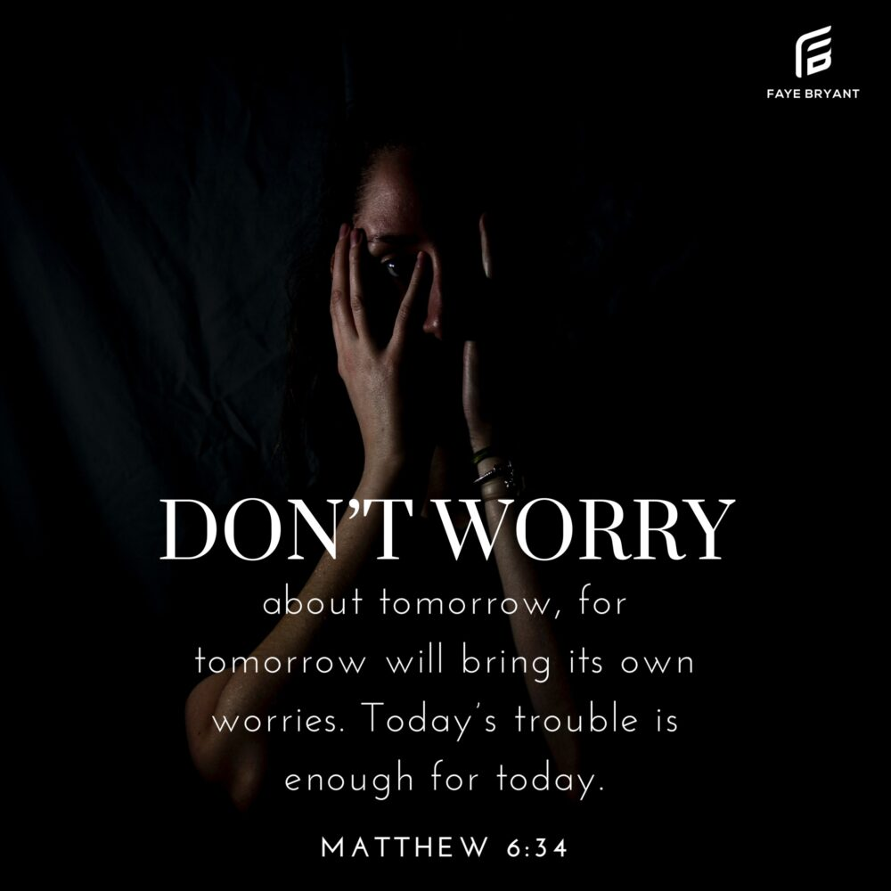 Choose God instead of  Worry
