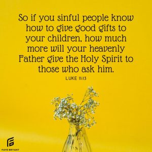 Prayer is asking for God's solution.
