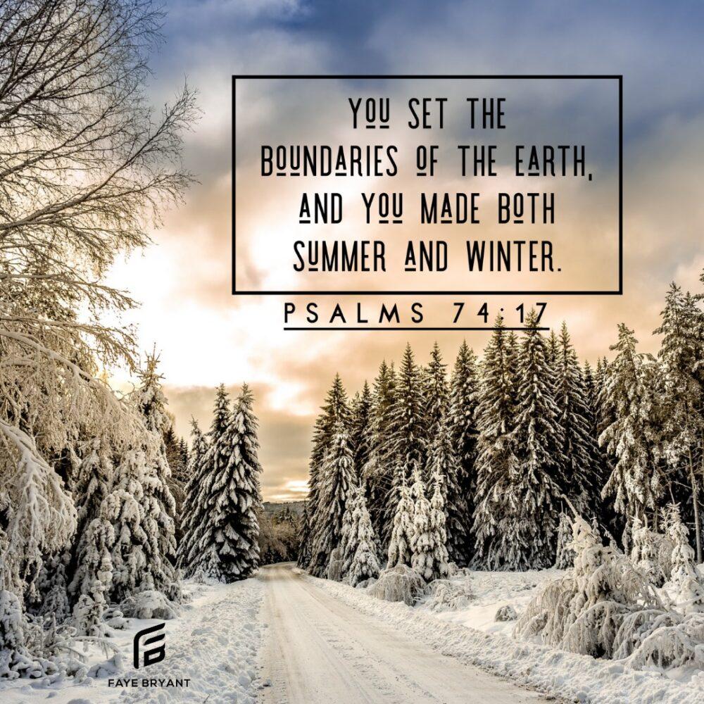 Boundaries and Seasons