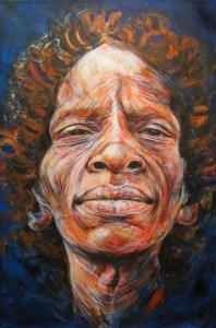 Kenyan Woman Abstract