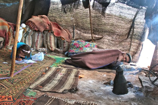 A nomad tent