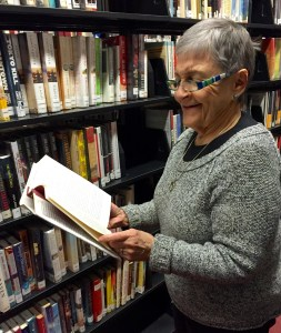 Faye Snider @ Newton Public Library Stacks
