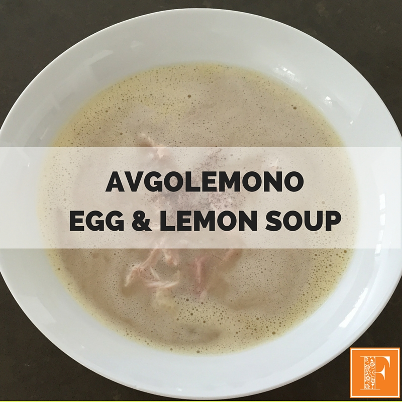 AVGOLEMONO EGG & LEMON SOUP