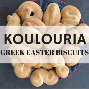 KOULOURIA GREEK EASTER BISCUITS