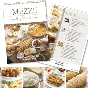 Mezze Ebook By Fayi | Greek Thermomix Recipes