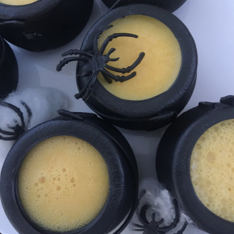 Lemon and Peach Potion Pots - Halloween Recipe For Thermomix