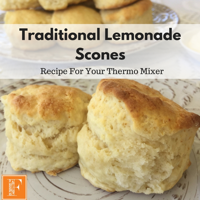 Traditional Lemonade Scones – Recipe For Your Thermomix