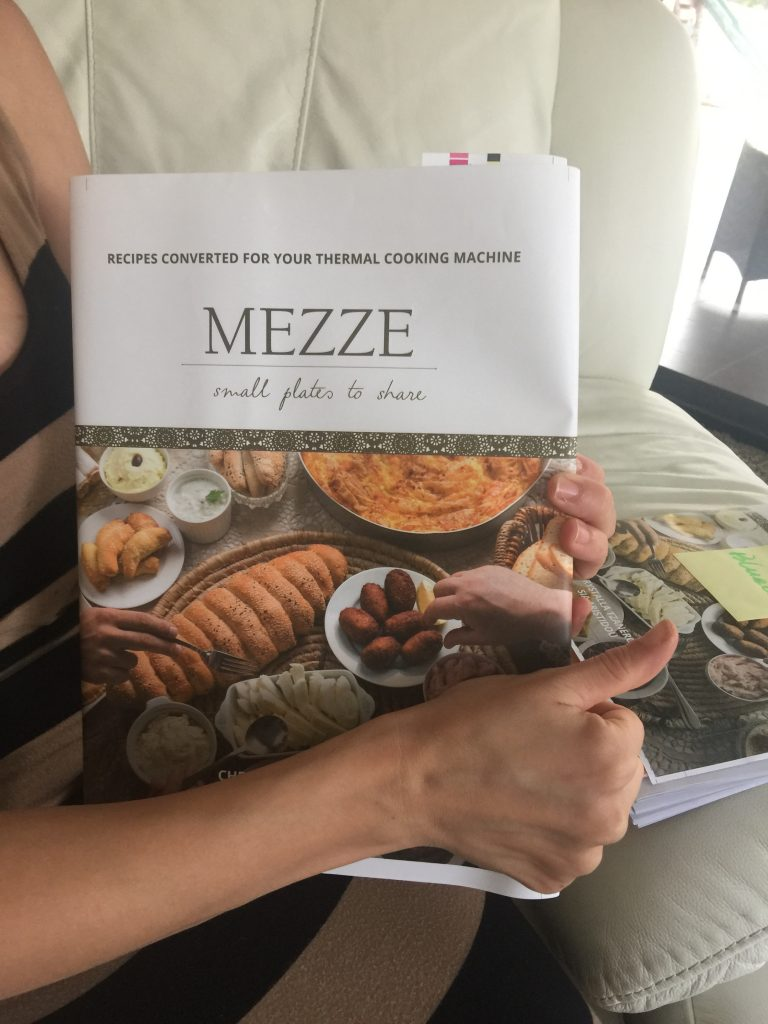 Front Cover of the Mezze Cookbook